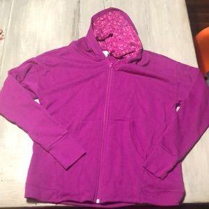 Vera Bradley zip up hoodie